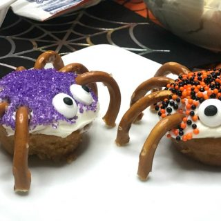 Spider Bites Halloween Snack for Kids