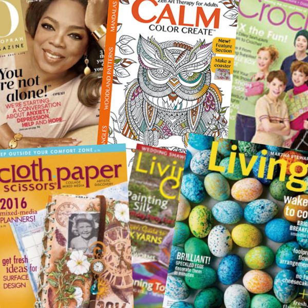 Holiday Gift Guide - Magazines for Mom