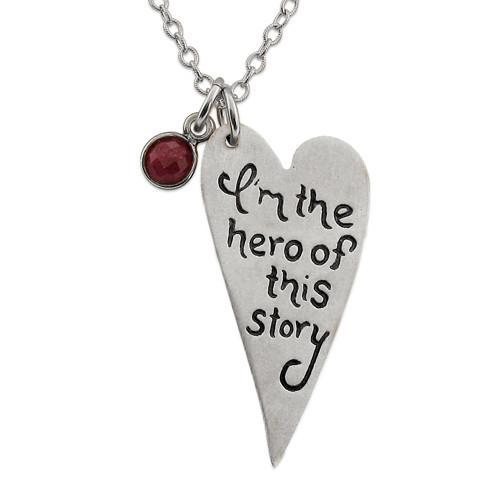 Isabelle Grace Hero of my Story Pendant