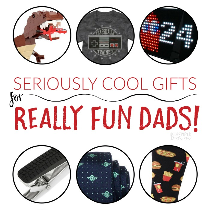 Seriously Cool Gifts for Fun Dads - A B-Inspired Gift Guide