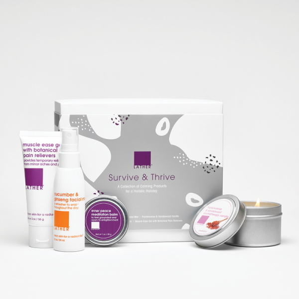 A Survive and Thrive Holiday Gift Set for Mom
