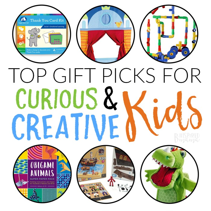 Top Gifts for Curious and Creative Kids - A B-Inspired Gift Guide