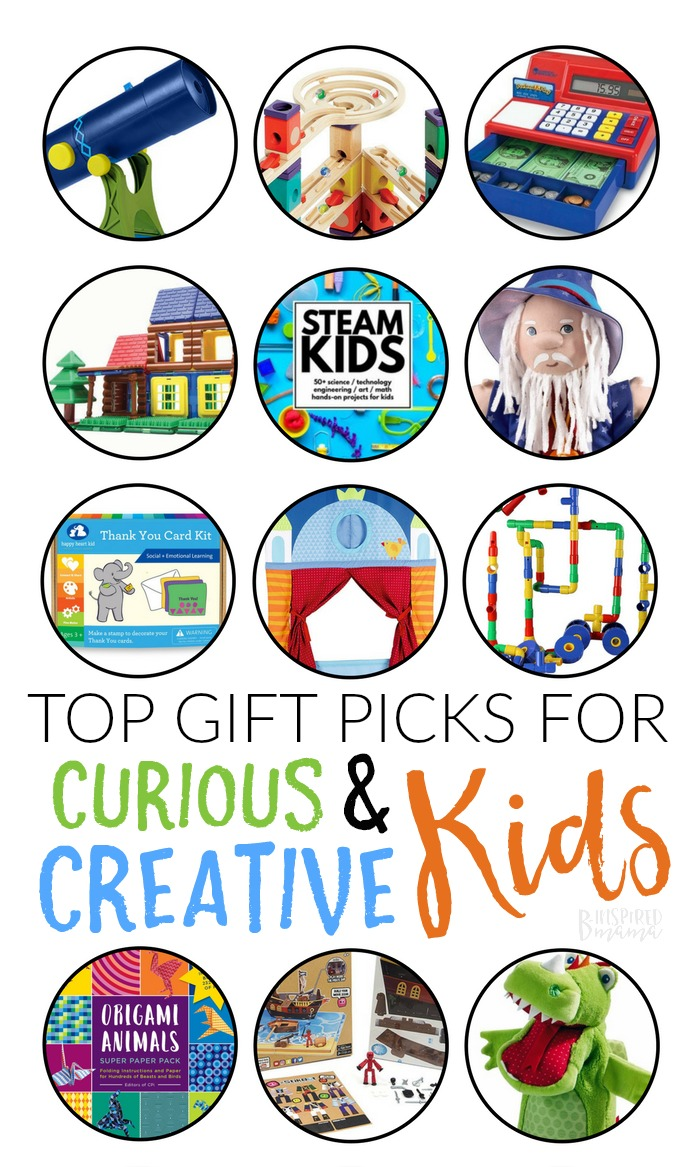Tip Gifts for Curious and Creative Kids! - A B-Inspired Gift Guide