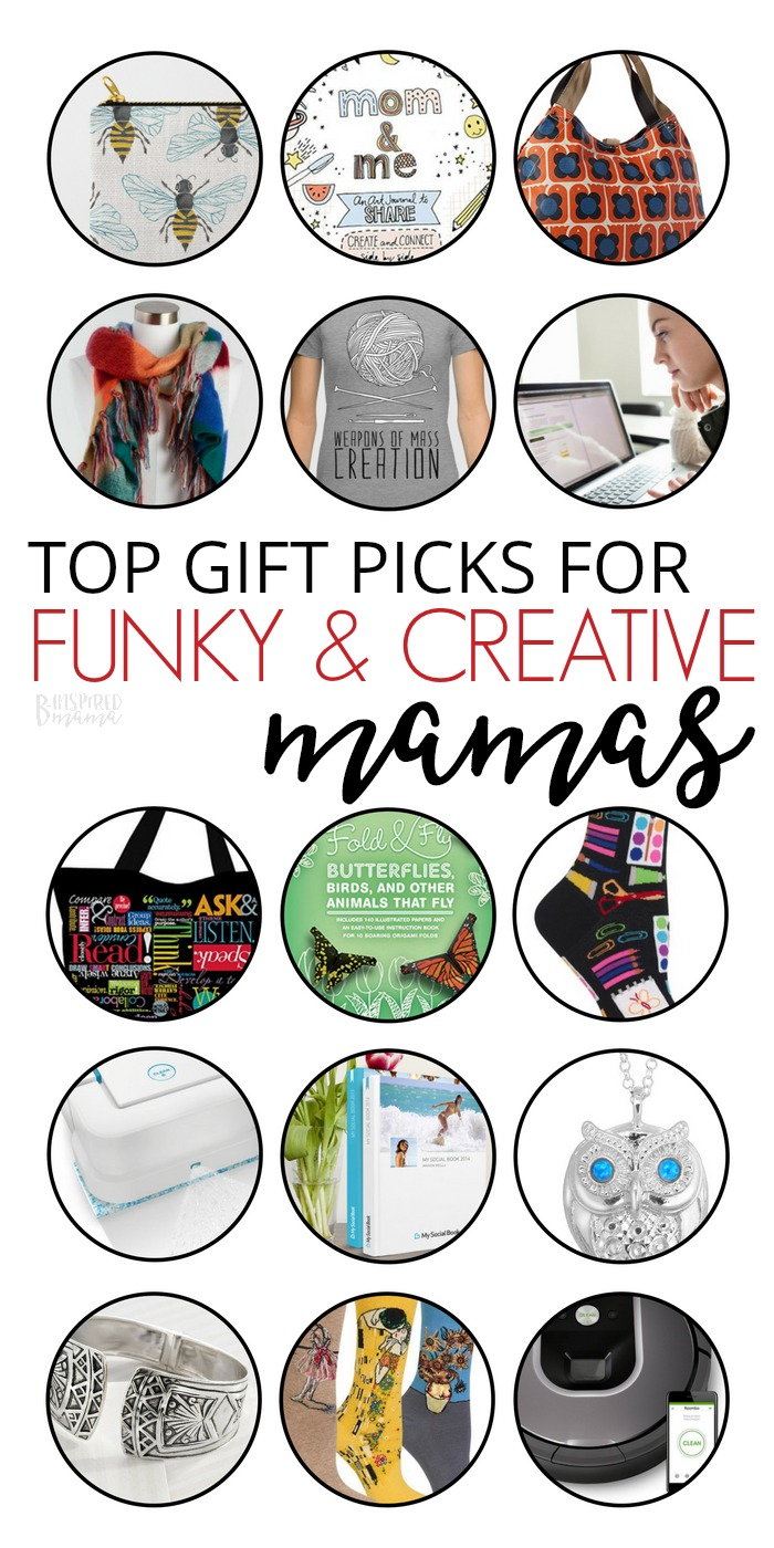 Top Gifts for Funky, Creative Moms - A B-Inspired Gift Guide