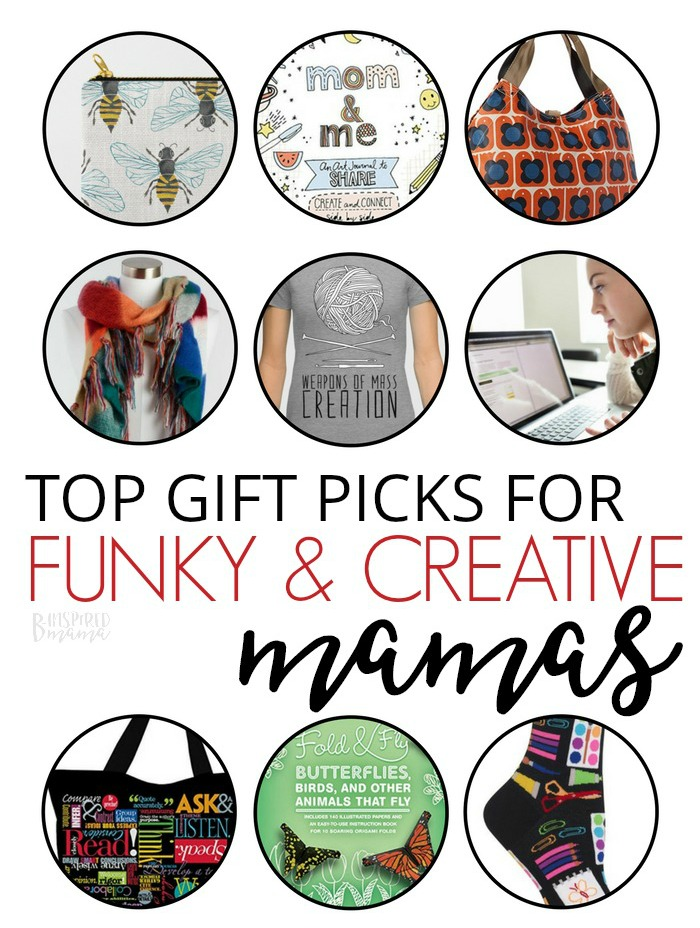 Top Gifts for Funky, Creative Moms - A B-Inspired Mama Gift Guide