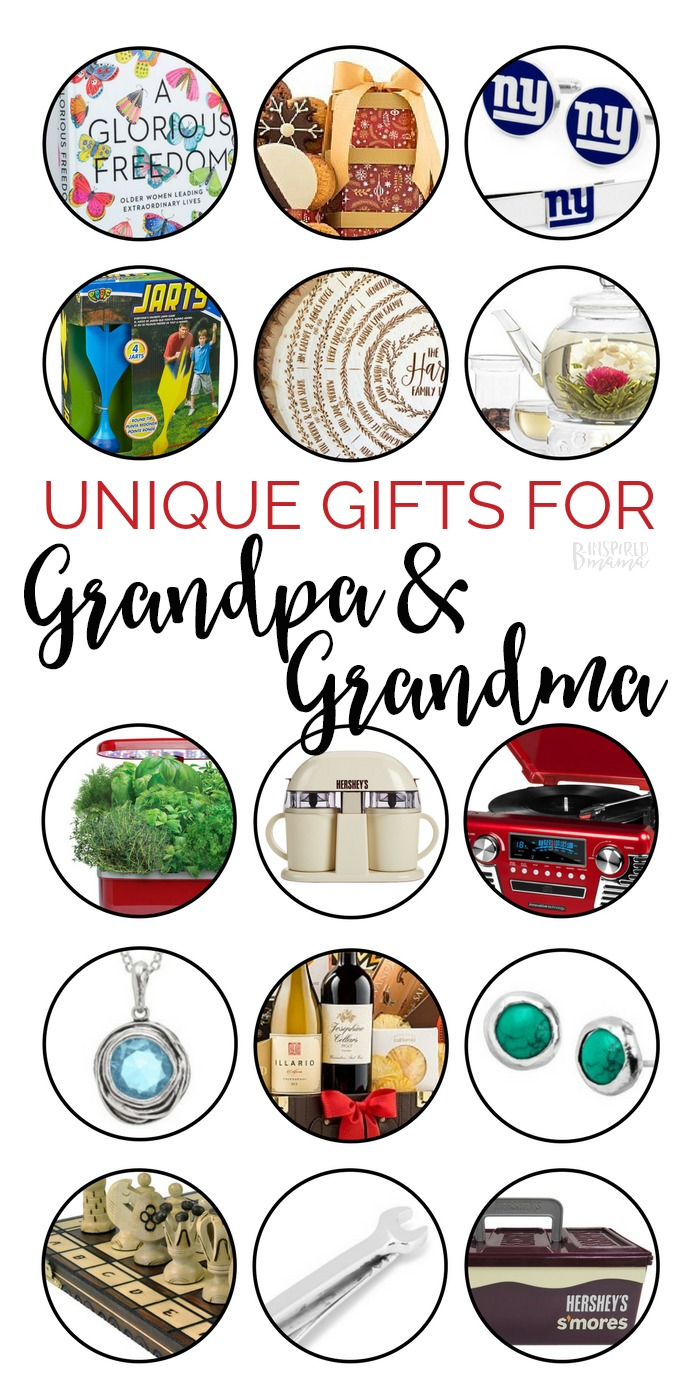 Unique Gifts for Grandpa and Grandma - A B-Inspired Mama Gift Guide