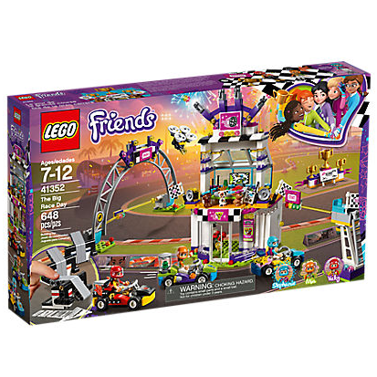 LEGO Friends Big Race Day Set