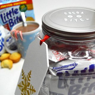 Cocoa and a Bite - A Hot Chocolate Jar Gift any Family will Love - B-Inspired Mama