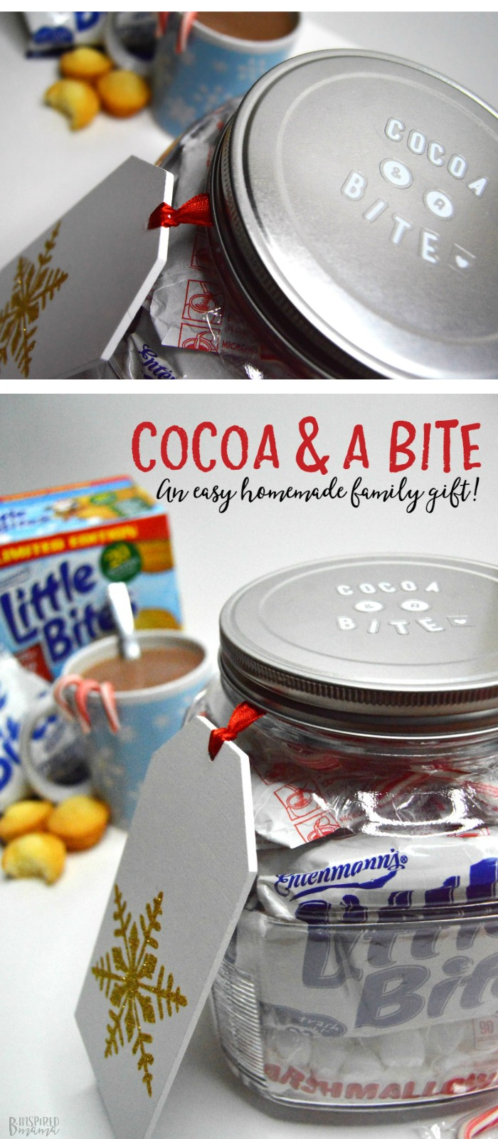 Cocoa and a Bite - An Easy-Peasy DIY Hot Chocolate Jar Gift any Family will Love - B-Inspired Mama