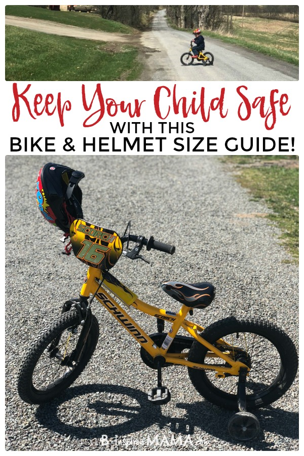 The Best Kids Bike and Kids Bike Helmet Sizes - Made Easy - To keep your child safe!