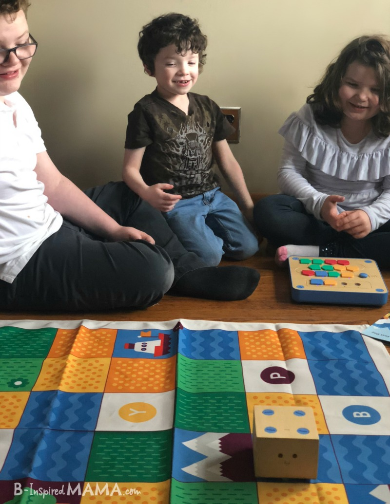 Kids learning to code with their new Cubetto coding robot toy + more Fun Kids Coding Activities