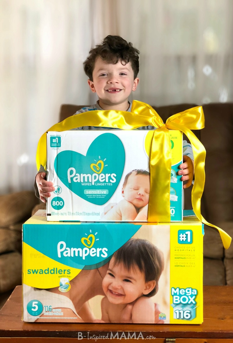 A Challenge for Moms - A Simple Act of Kindness for a Fellow Mom - Like surprising her with some Pampers diapers and wipes!