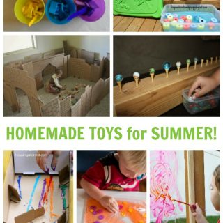 25 Cute and Easy Homemade Kids Toys for Summer Fun