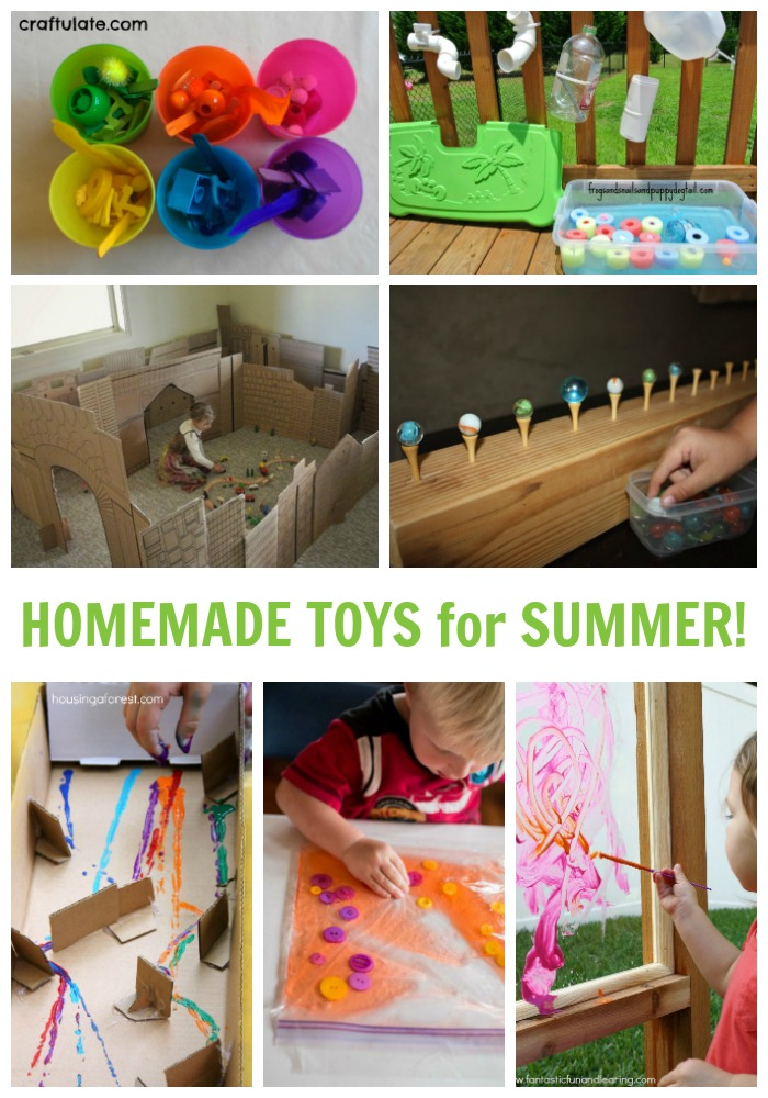 Homemade Kids Toys - Perfect for Summer