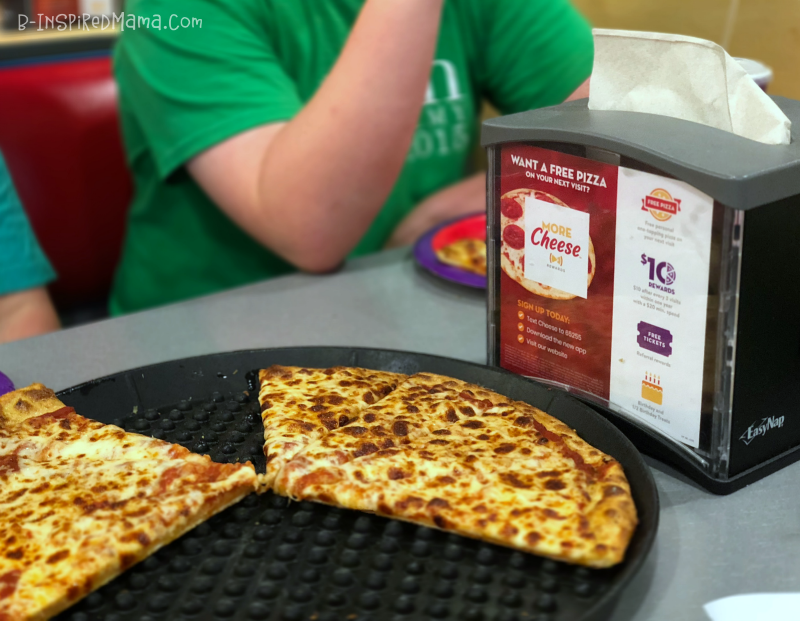 Save money with app during your Awesome Indoor Fun for Kids at Chuck E. Cheese's