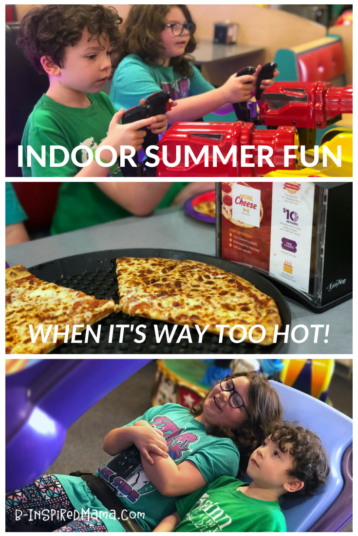 The very BEST affordable indoor fun for kids that will SAVE you on a crazy hot day!
