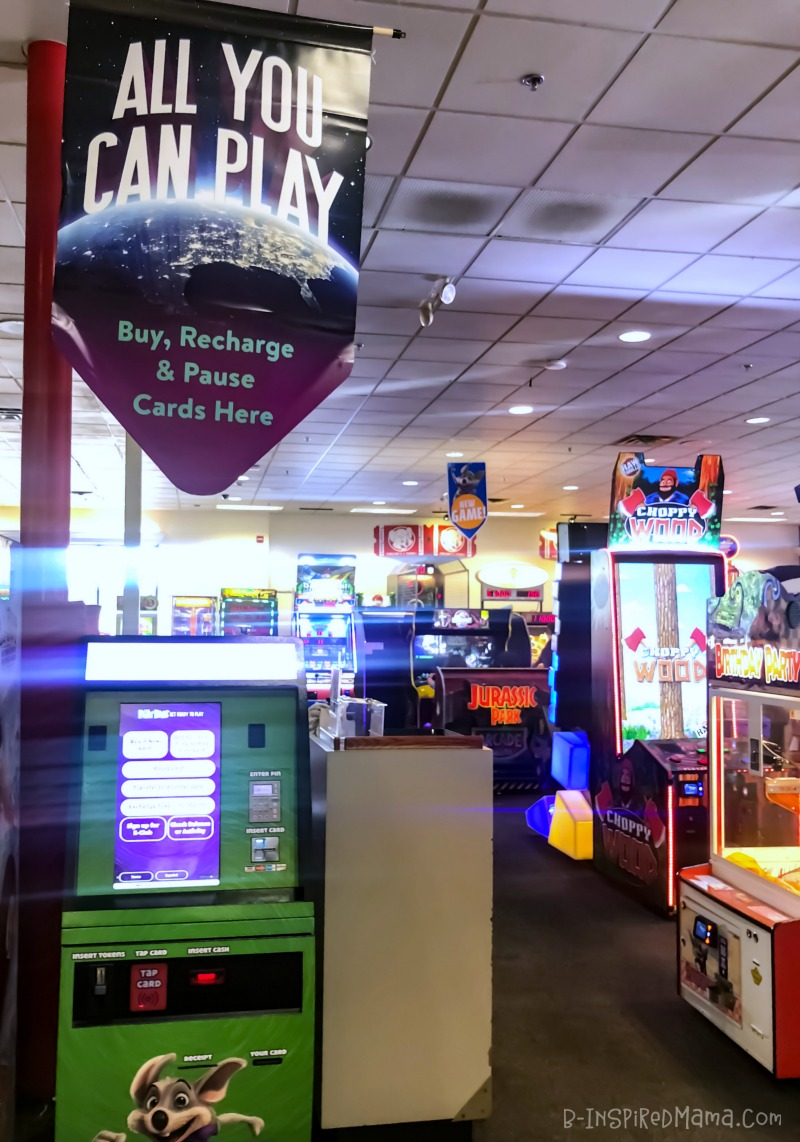 Use the Play Pass for Inexpensive Indoor Fun for Kids at Chuck E. Cheese's