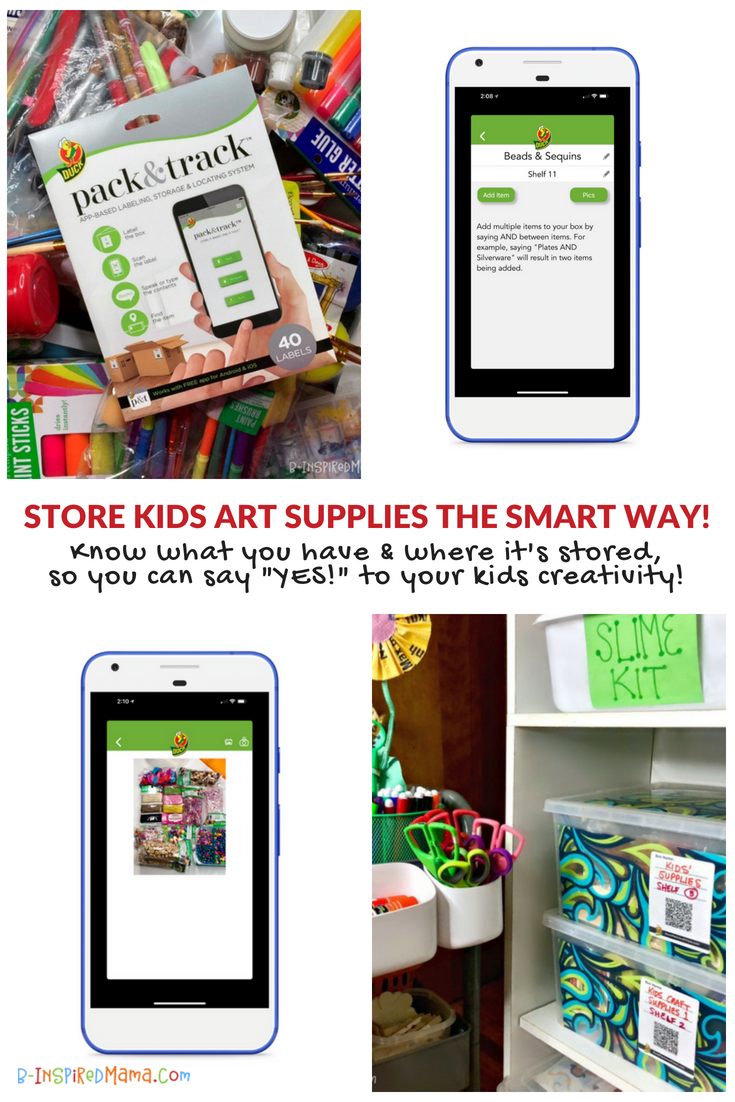 A Super Smart Solution to Conquer the Neverending Battle of Organizing Kids Art Supplies!