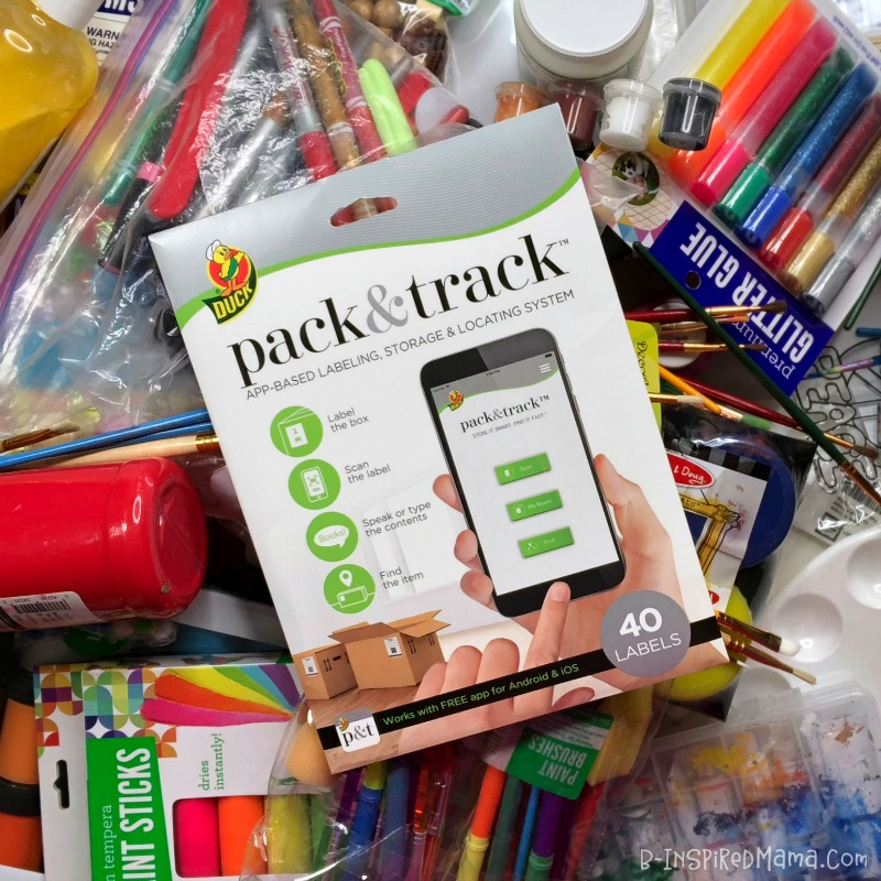 Organizing Kids Art Supplies so you say YES to kids art projects and creativity