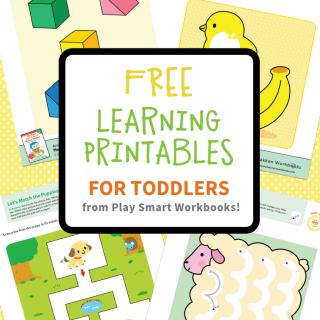 FREE Color and Shape Learning Printables for Toddlers - from Play Smart Workbooks