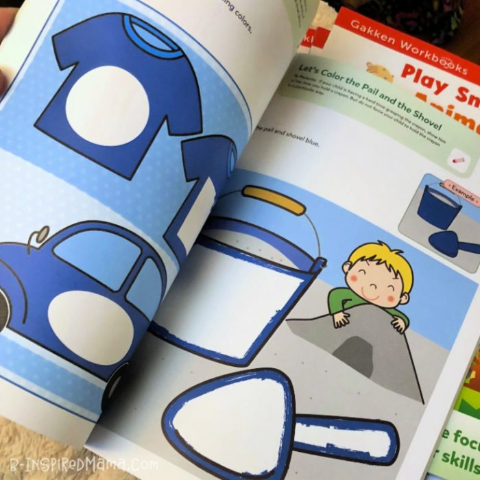 Free Learning Printables for Toddlers from the Play Smart Picture Puzzler Workbooks for 2 Year Olds