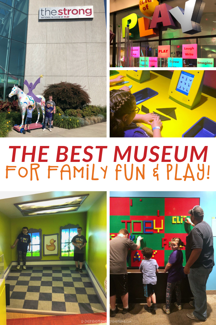 Our Favorite Museum for Family Fun - and PLAY! + A Play-Inspired Kids Drawing Printable