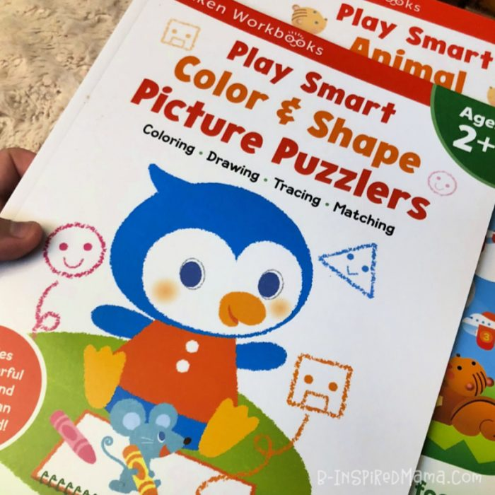 Printables for Toddlers from the Play Smart Picture Puzzler Workbooks for 2 Year Olds