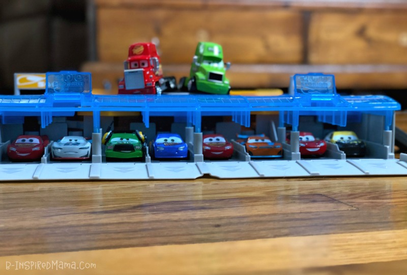The Cars are ALL lined up!