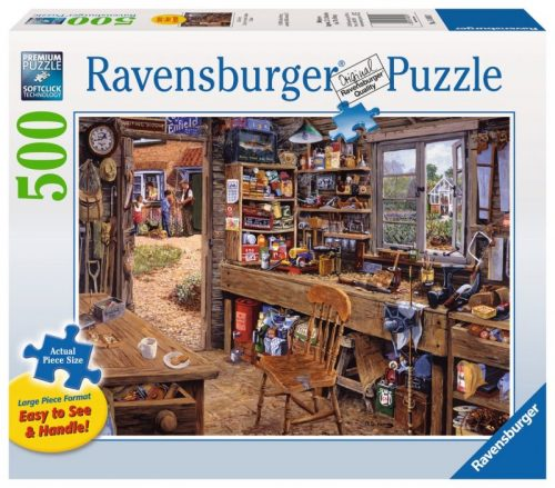 Dad's Shed Puzzle