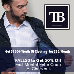 Trendy Butler Clothing Subscription for Men (Use Code