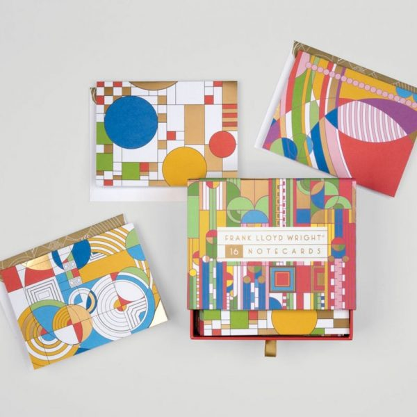 Frank Lloyd Wright Notecards - for creative moms