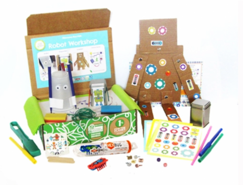 Green Kid Craft Discovery Box