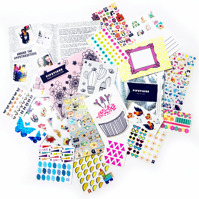 Pipsticks: Subscription for Sticker Lovers