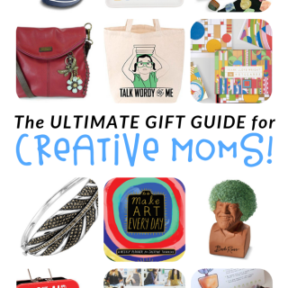 The ULTIMATE Gift Guide for Creative Moms - Over 68 awesome gift ideas for moms!