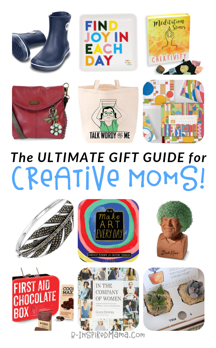 Top Gifts for Funky, Creative Moms