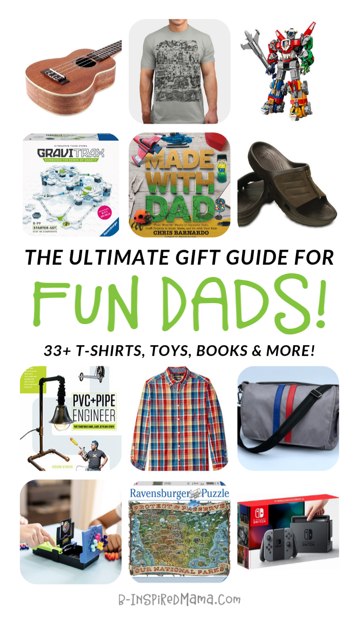 Cool Gifts for Really Fun Dads
