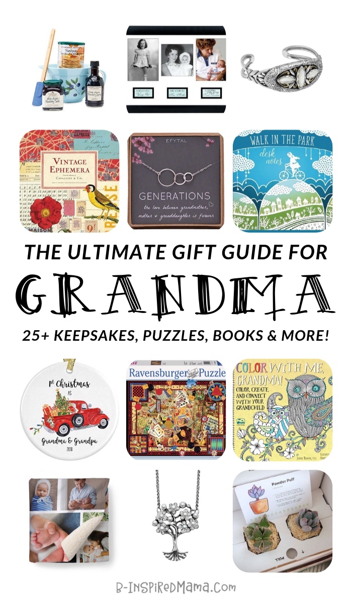 The ULTIMATE Gift Guide for Fun Grandmas - AND Grandpas, too!