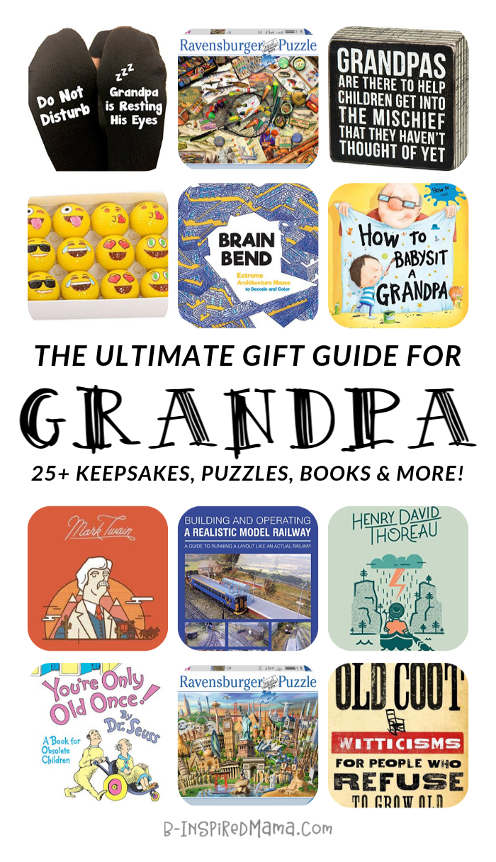The ULTIMATE Gift Guide for Fun Grandpa - AND Grandma, too!