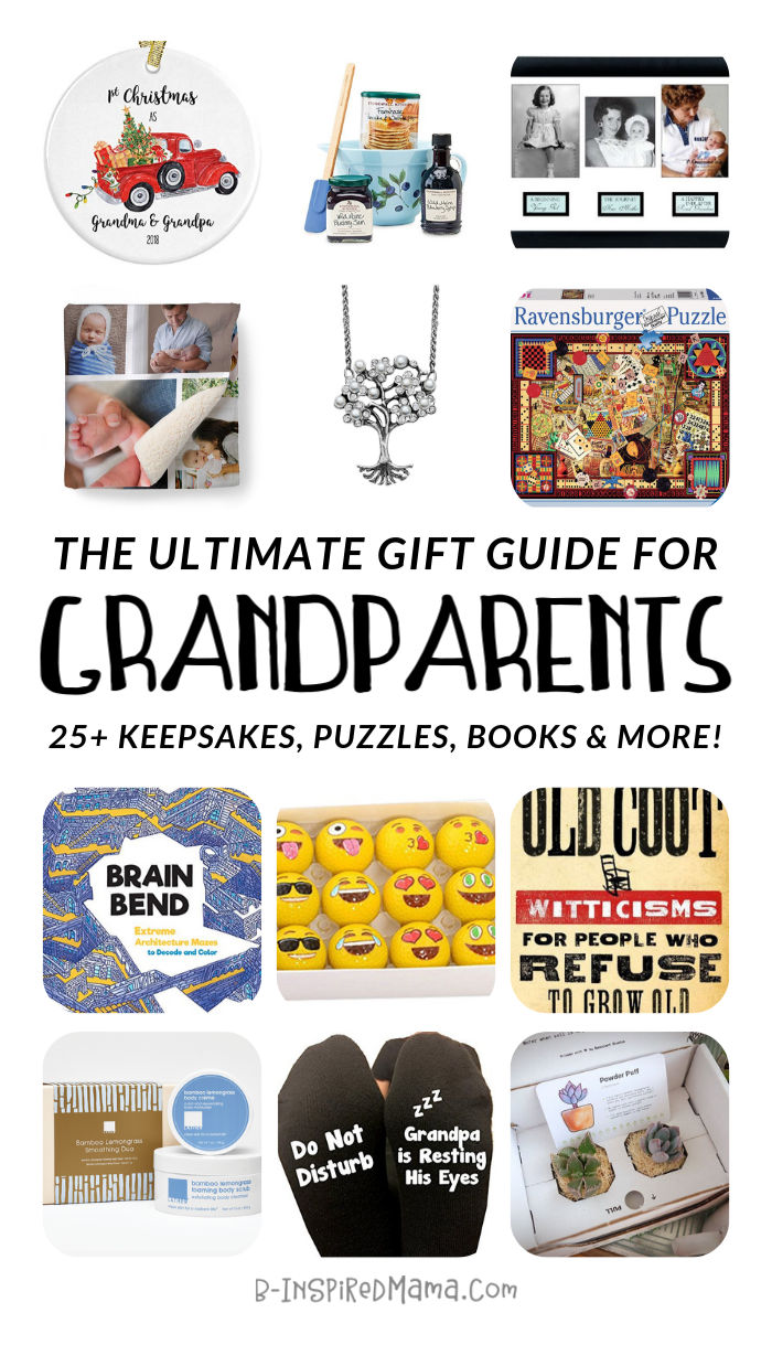 The ULTIMATE Gift Guide for Fun Grandparents - at B-Inspired Mama