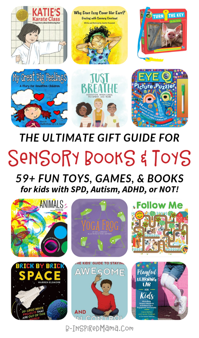 The ULTIMATE Gift Guide for Sensory Toys and Games and BOOKS for Kids - with SPD, Autism, ADHD, or not!