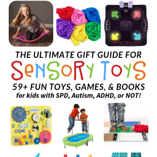 The ULTIMATE Gift Guide for FUN Sensory Toys and Games!