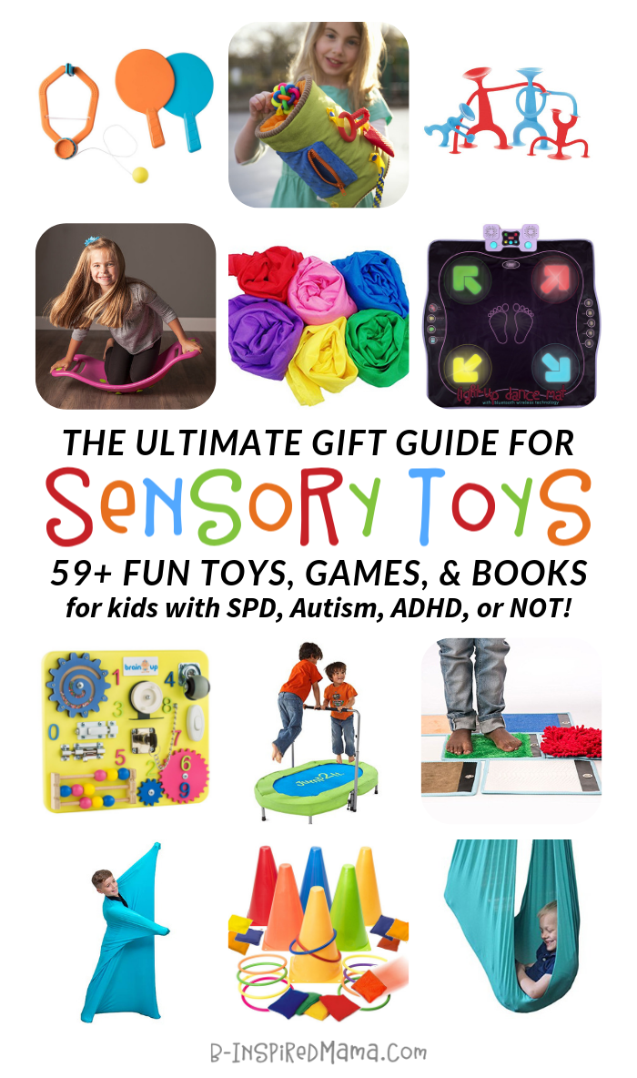 Seriously Fun Sensory Toys and Games