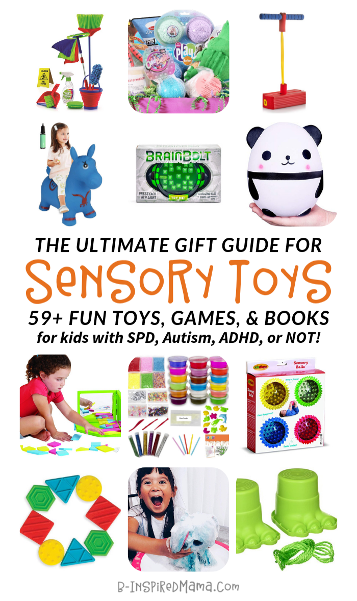 The ULTIMATE Gift Guide for Sensory Toys and Games for Kids - with SPD, Autism, ADHD, or not