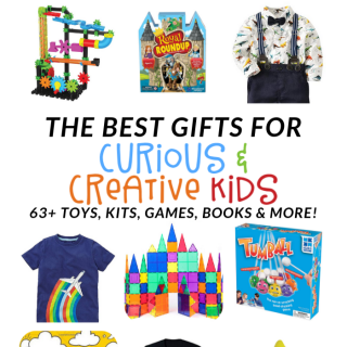 The Ultimate Gift Guide for Curious Creative Kids - at B-Inspired Mama