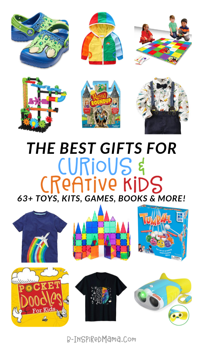 Top Gifts for Curious and Creative Kids