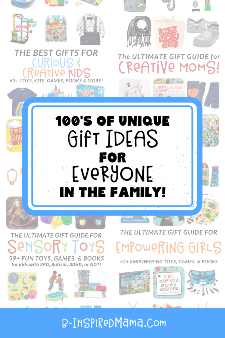The Ultimate Holiday Gift Guide List for Fun Kids and EVERYONE in their Family