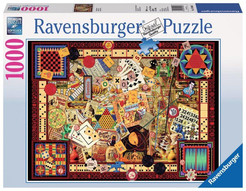 Vintage Games Puzzle