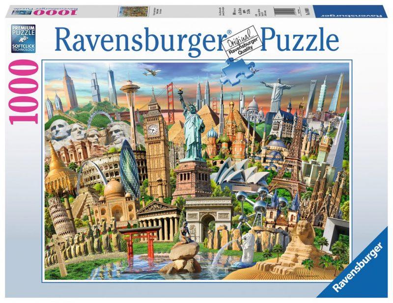 World Landmarks Puzzle