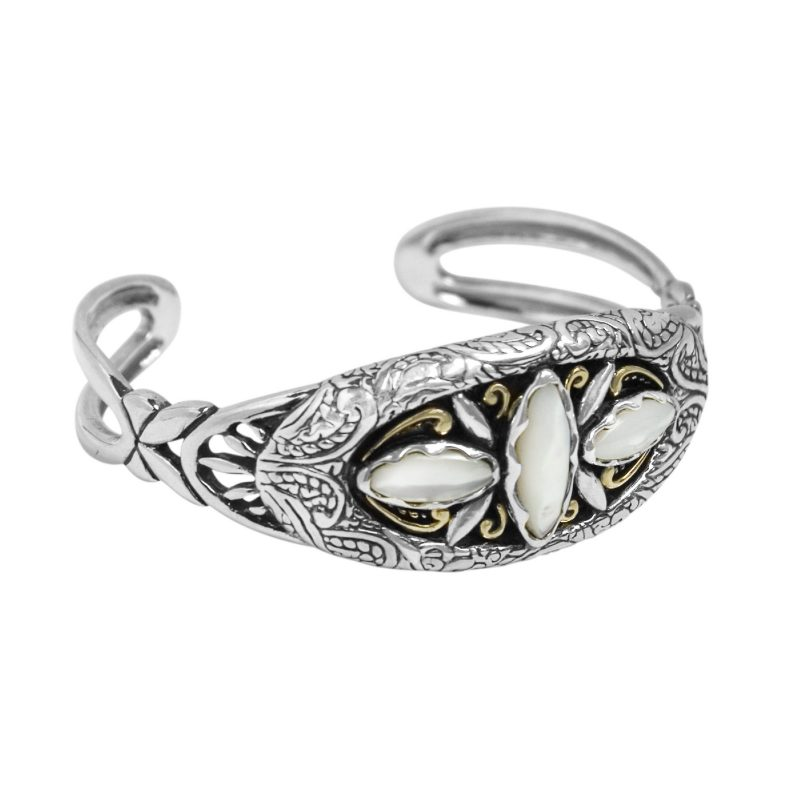 American West Mother-of-Pearl Cuff Bracelet