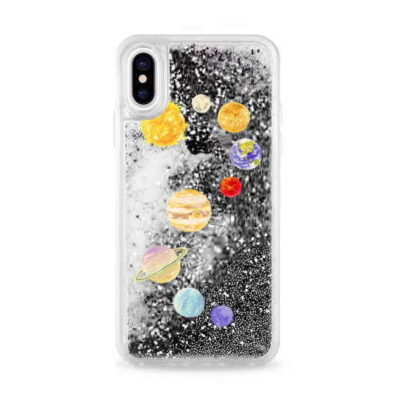 Glitter Solar System Case